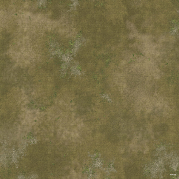 Eine Tabletop Battle Mat im Gras Design.