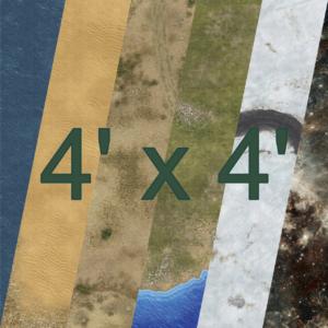 4' x 4'