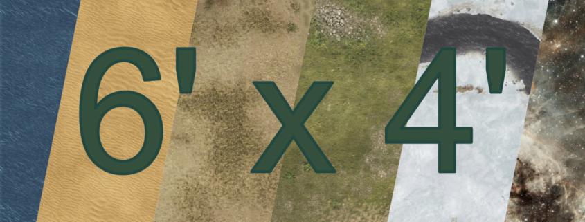 Eine Tabletop Battle Mat im Doppelseitig Design.