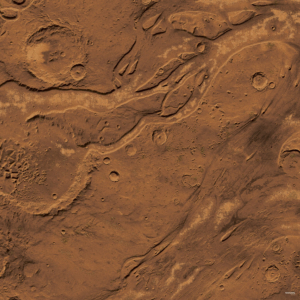 Eine Tabletop Battle Mat im Mars Design.