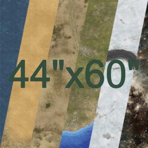"44"" x 60"""