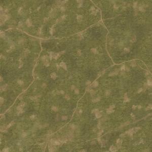 Eine Tabletop Battle Mat im Grasfläche Design.